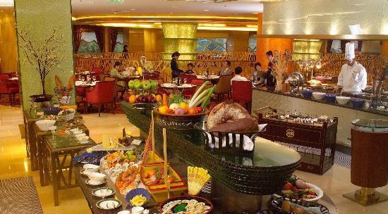 上海新世界丽笙大酒店咖啡苑自助餐厅