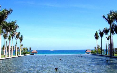三亚亚龙湾红树林度假酒店大堂吧