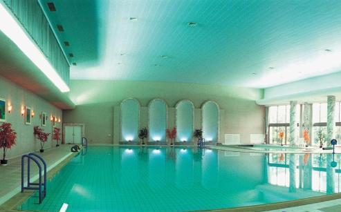上海西郊宾馆游泳池